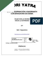 BADRIYATRA WITH SRI SATYA SAI BABA-THE BOOK