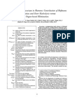 Elimination of Atracurium in Humans Contribution.2