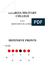 gmc defense playbook
