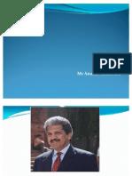 Anand Mahindra Profile
