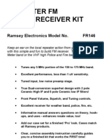 2 Meter Fm Receiver Kit