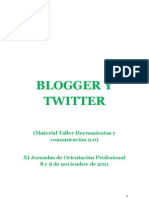 Tutorial Twitter y Blog Final