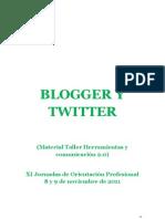 Tutorial Twitter y Blog Final