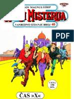 LMS 40 - Martin Mystere - Cas X