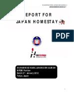 Nabil's Japan Homestay Report I