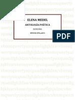 Medel, Elena - Antología Poética - ediciones alma_perro