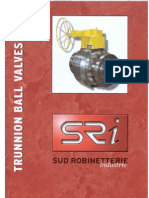SRI Trunnion Ball Valves