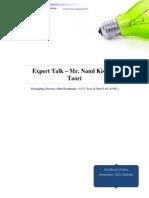 ExpertTalk-MrNandKishoreTaori