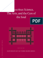 Democritus Science The_Arts and the Care of the Soul