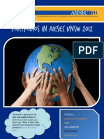 AIESEC UNSW Portfolio Outline