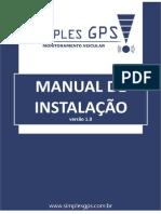 PROC. DE INSTALAÇÃO DO EQUIPAMENTO SIMPLESGPS