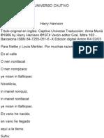 Harrison Harry - Universo Cautivo