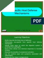 Lecture8 Non-Specific Defense