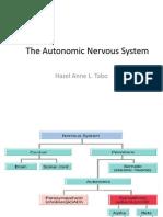 Lecture 6 - The Autonomic Nervous System