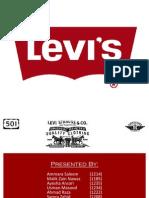 BRAND AUDIT PRESENTATION LEVIS