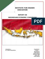 Indonesia economic conditions