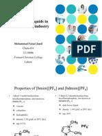 Uses of Ionic Liquids in Pharmaceuticals