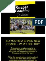Soccer Coaching for Dummies