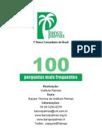 Banco Comunitário - 100 Perguntas Mais Frequentes