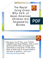 The Racist Bullying Crisis Why 54% of Asian American Children Are Targeted by Bullies