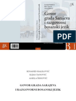Govor Grada Sarajeva i Razgovorni Bosanski Jezik
