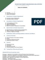 WVSU Guidelines for Student Organizations 2011