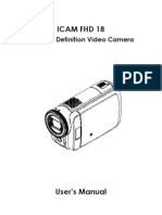 User Manual for ICAM FHD 18