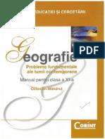Manual de Geografie Clasa a XI- Corint - Octavian Mandrut