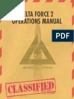 Delta Force 2 Manual