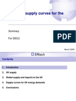 Biomass Supply Curves for the UK E4tech 2009