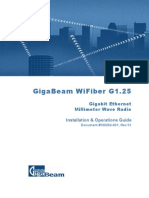 Gigabeam G1.25 Installation and Operations Manual 031706