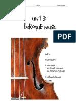 UNIT 3.Baroque Music