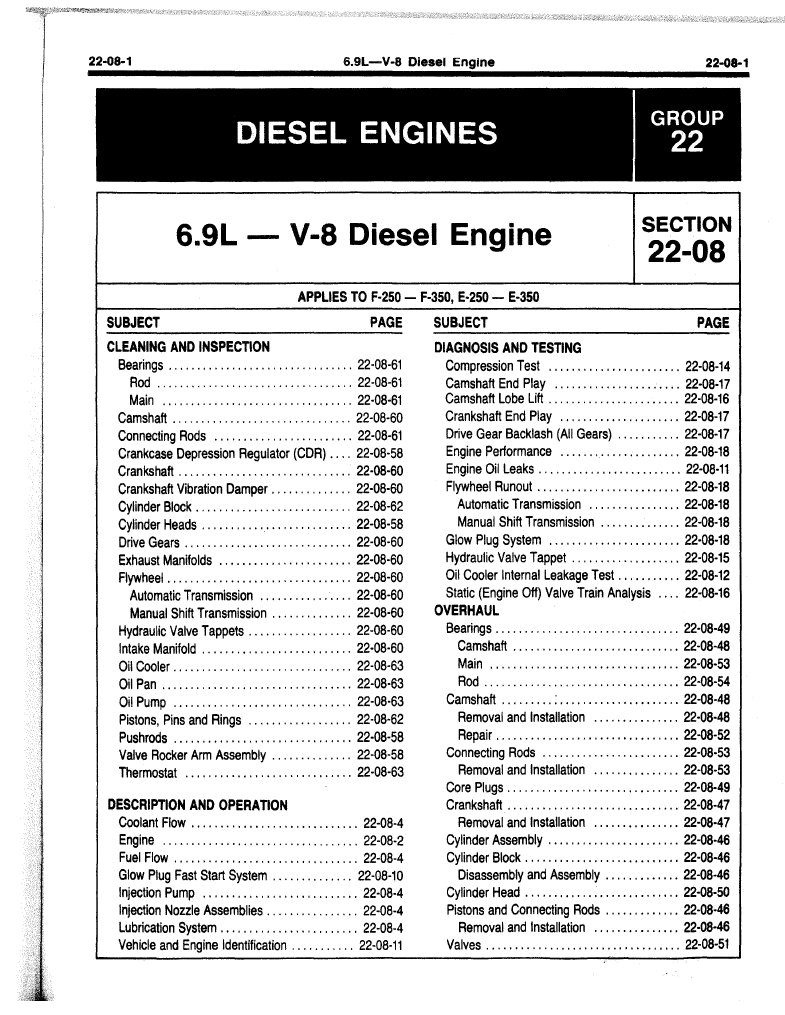 1985 Ford Diesel A73 Gm Alternator Wiring