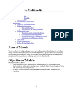 Introduction to Multimedia Systems Notes