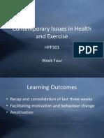HPP301 Week Four Slides