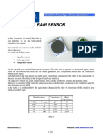 Rain Sensor Applic Note