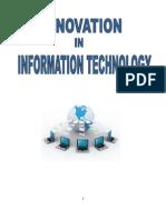 Innovation in IT Soft Copy)