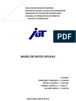 Informe Bases de Datos Difusas