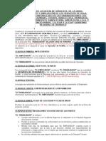 Contrato Op.rodillo