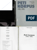 Peti Korpus 1992-1995 - Bejdo Felic