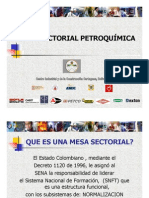 Mesa Sectorial Petroquimica