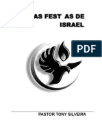 As festas de Israel - Tony Silveira