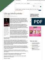 (Líder gay defende pedofilia - Cotidiano - JB Wiki - Jornal do Brasil)