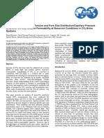 The Impact of Inter Facial Tension and Pore Size Distribuitio