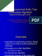 Iddo-McCreight_slides on Suffix Tree Updates