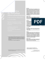 Impactos Catedra Afrocolombianidad Norte Del Cacua