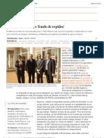 Socios del exclusivo 'fondo de reptiles' | Política | EL PAÍS
