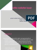 Proprietatile Radiatiei Laser