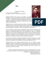 021. Biografia Rigoberta Menchu