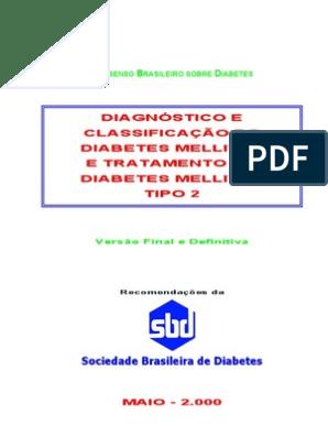 diabetes tipo 2 tratamento pdf